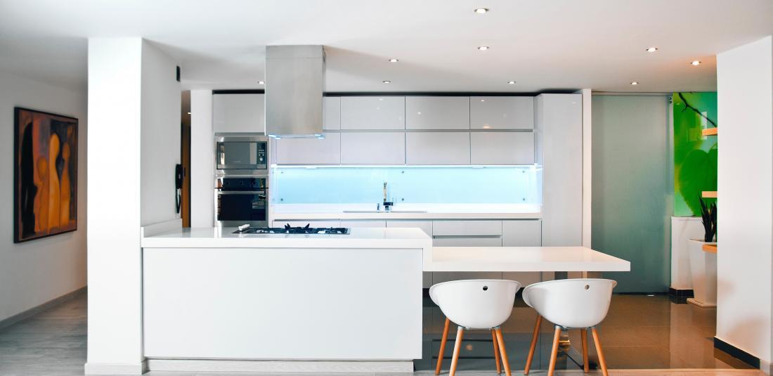 Super Keuken achterwand van glas | GLASSby #ET38
